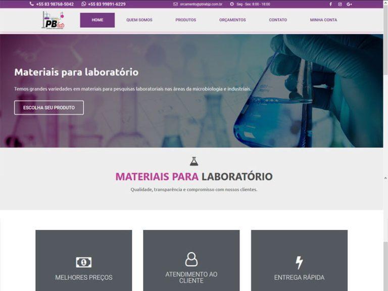 PBlab materiais para laboratório
