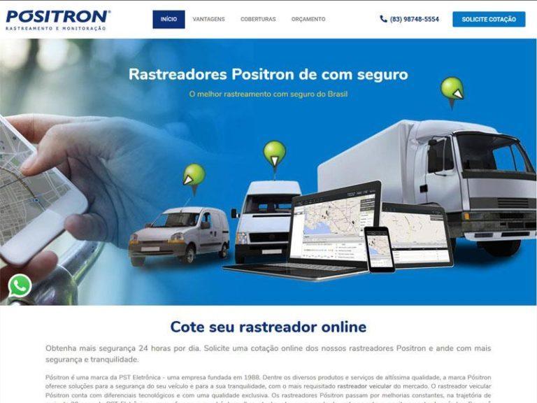 Site Positron vendas João pessoa