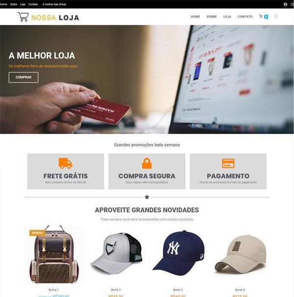 Loja virtual Paraíba