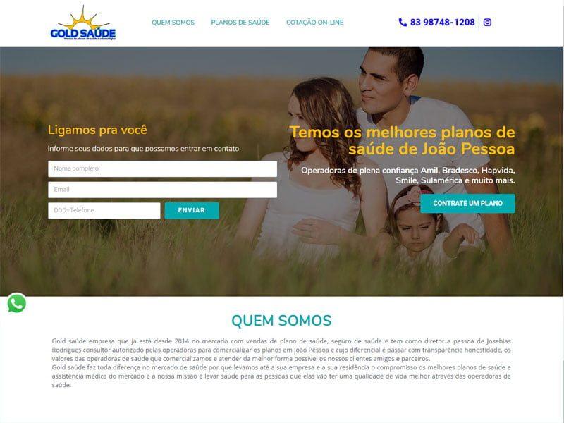 Site de planos de saúde João Pessoa