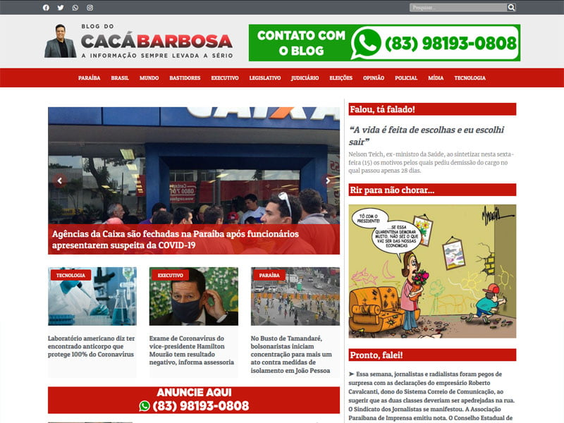 Blog do Cacá Barbosa
