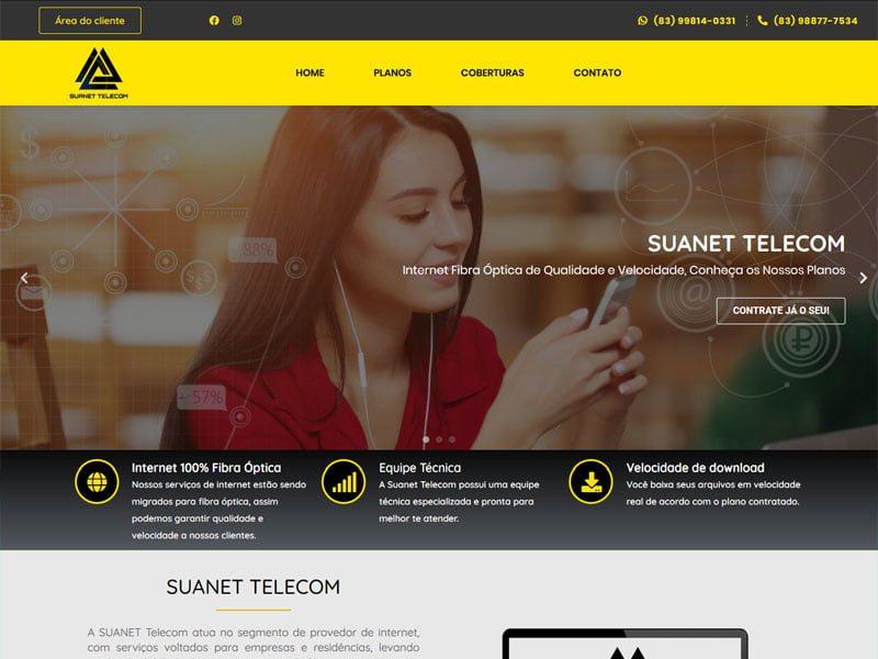 Site Suanet Telecom