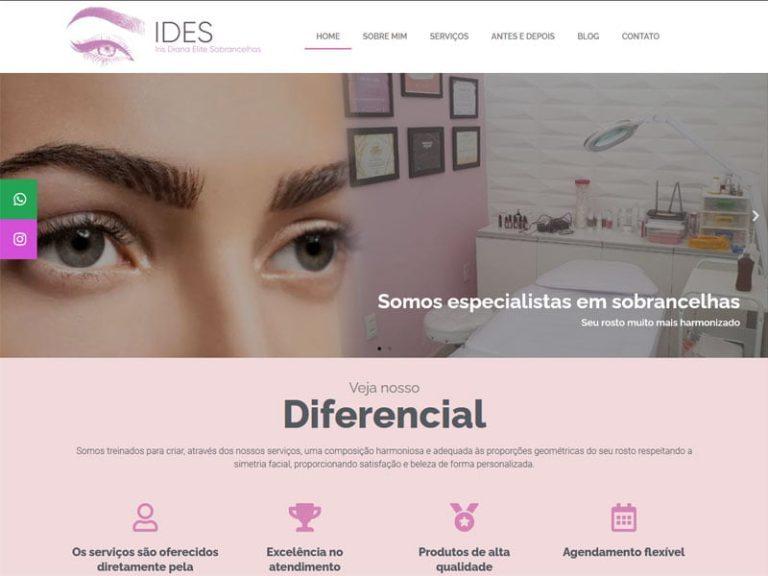 Iris sobrancelhas João Pessoa