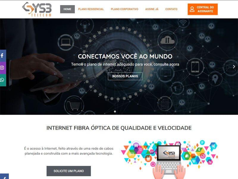 Provedor de internet Sys3