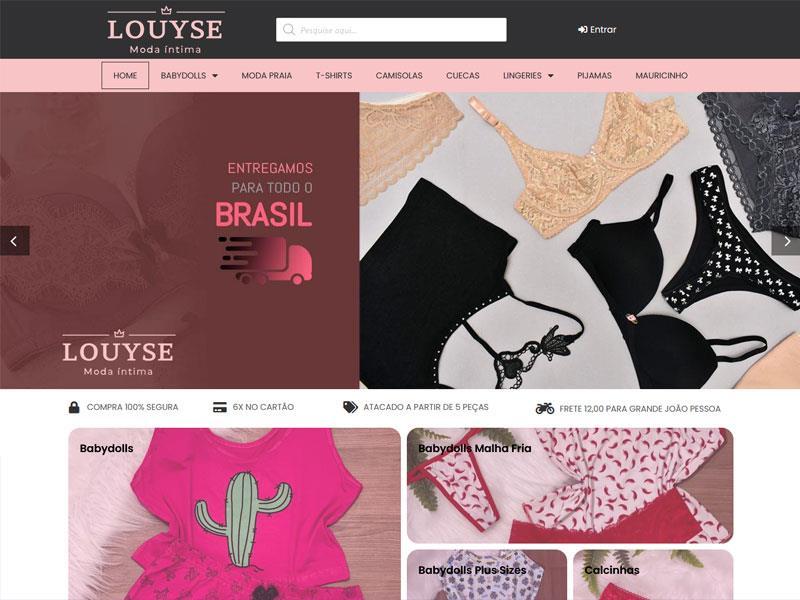 Louyse loja virtual João Pessoa