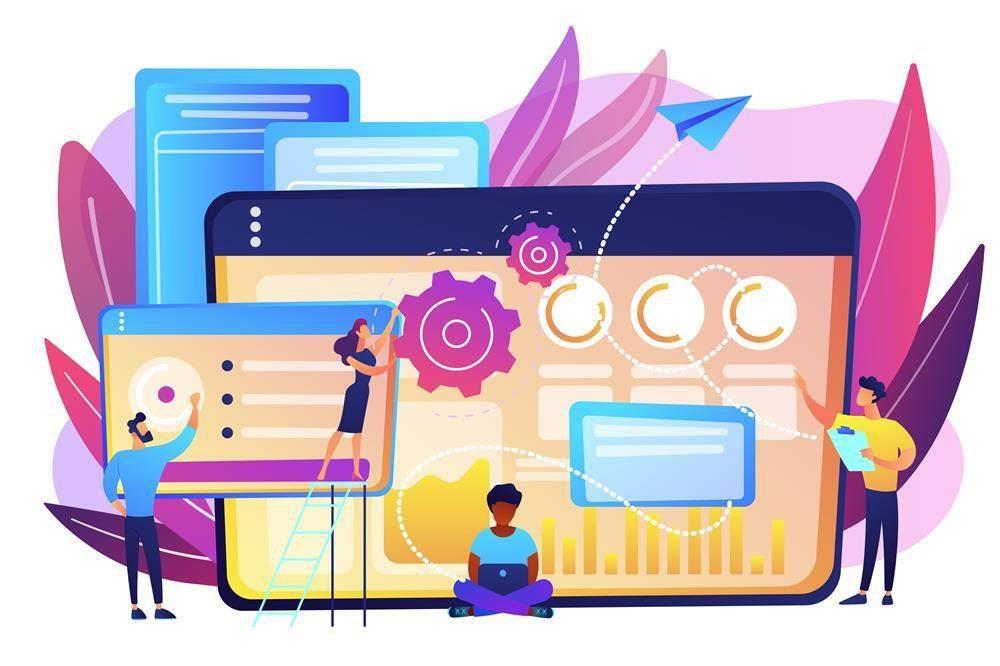 Criação de sites e lojas